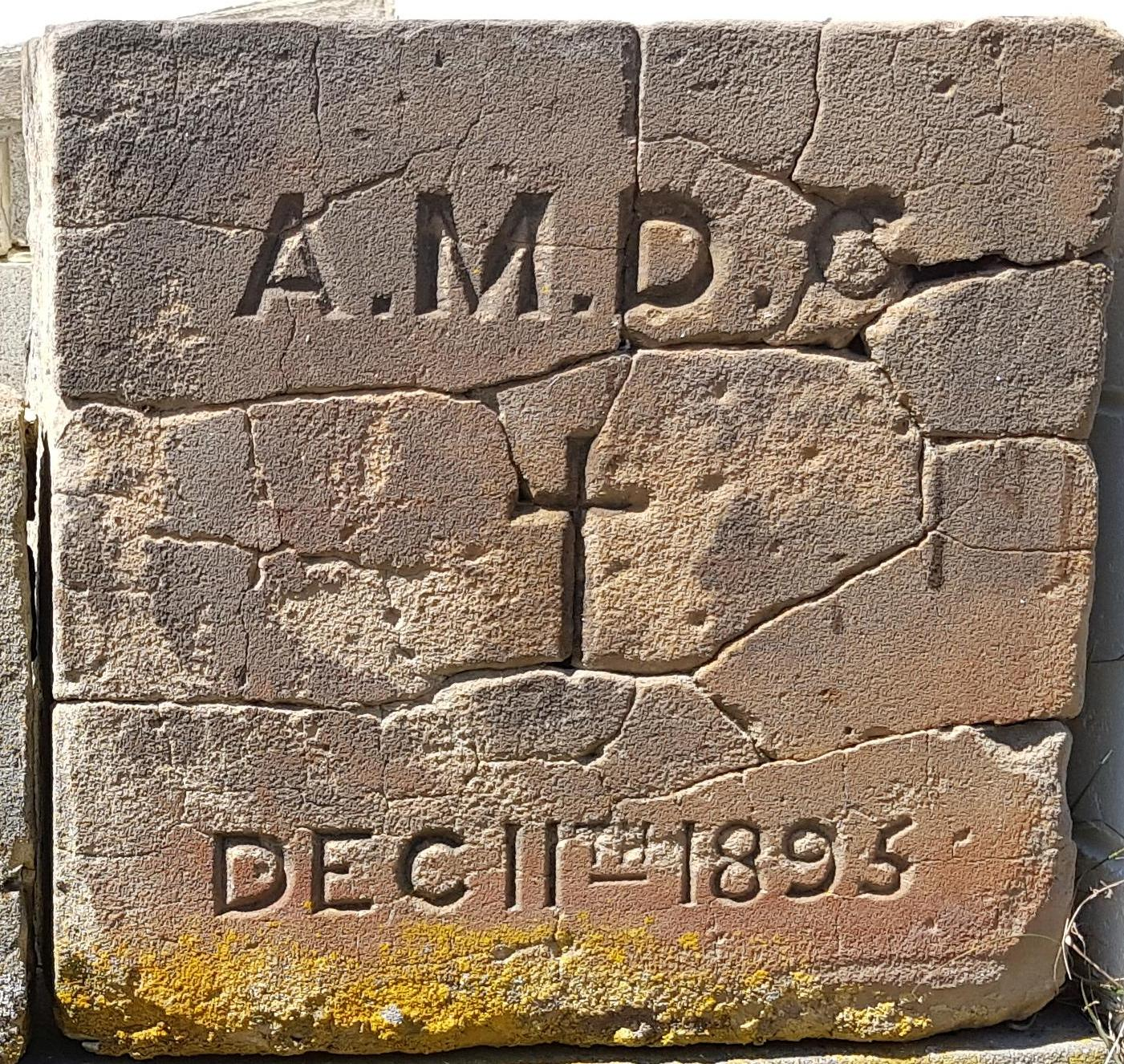 Foundation Stone, St Peters Barnes Bay